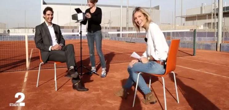"""Rafael Nadal a reçu France 2 et son magazine """"Stade 2"""" chez lui en Espagne... Regardez !"""
