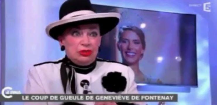"Geneviève de Fontenay affirme que ""Nabilla doit sa carrière à sa poitrine farcie"" ... Regardez !"