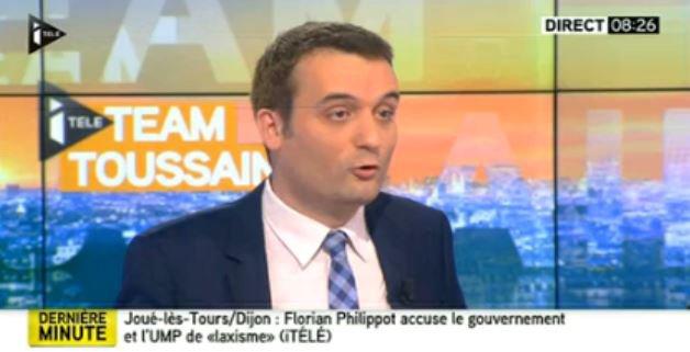 """Florian Philippot: """"Que Mélenchon aille dans la presse torchon, c'est de son niveau!""""... Regardez !"""
