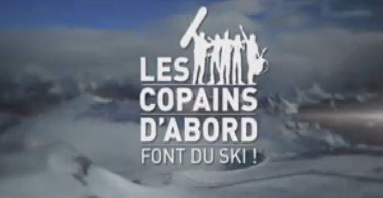 """""""Les copains d'abord font du ski"""" ce soir à 20H45 sur France 2: Découvrez les premières images..."""