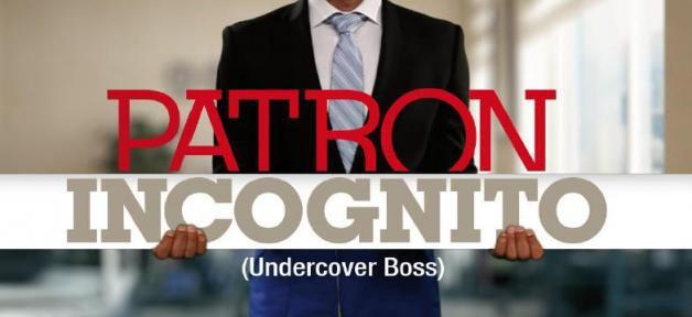 """L'émission """"Patron Incognito"""" de retour en prime sur M6 le 7 janvier prochain ..."""