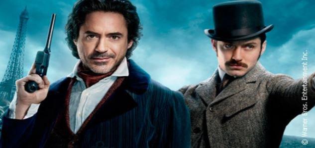 """""""Sherlock Holmes"""" leader des audiences hier soir sur TF1, Bon score pour """"Le père Noël est une ordure"""" sur France 2 ..."""