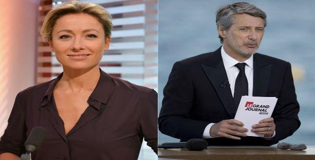 """Attentat à """"Charlie Hebdo"""": """"Le grand journal"""" prendra l'antenne plus tôt ce soir et """"C à vous"""" change son sommaire..."""