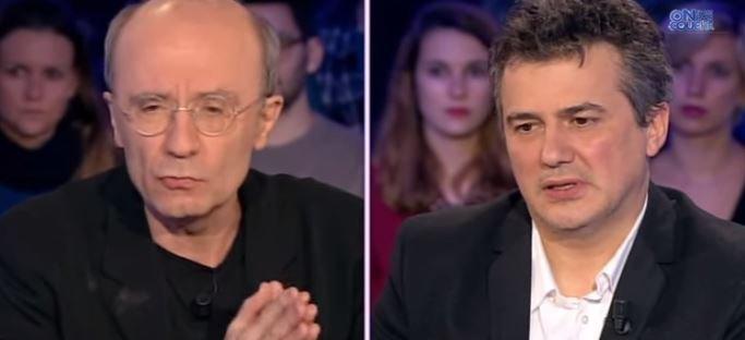 """Émotion: Regardez l'intégralité du passage de Patrick Pelloux et Philippe Geluck hier soir dans """"On n'est pas couché""""..."""