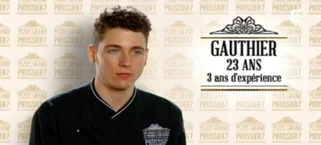 """France 2: Gauthier-Thibaut Toulzac du """"grand pâtissier"""" est décédé à l'âge de 23 ans..."""