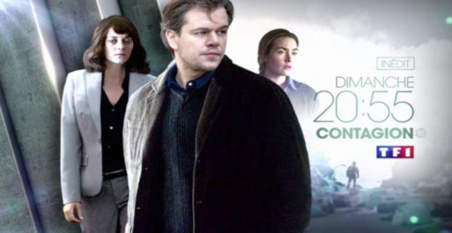 """Le film """"Contagion"""" leader des audiences hier soir sur TF1, Bon score pour """"Night and Day"""" sur France 2..."""