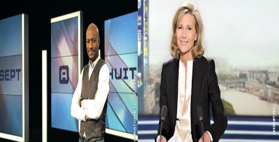Claire Chazal et Harry Roselmack au Top des audiences hier soir sur TF1...