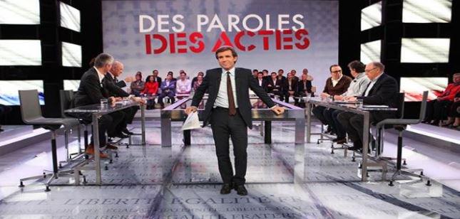 """""""Des paroles et des actes, Après le choc"""" demain soir sur France 2: Découvrez les invités que recevra David Pujadas..."""