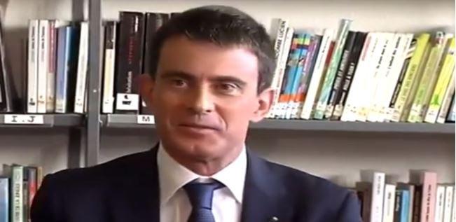 Une collégienne interpelle Manuel Valls au sujet de Dieudonné... Regardez !