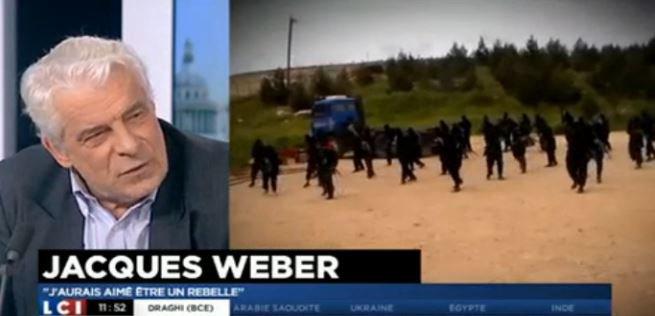 Sur LCI, Jacques Weber parle sans langue de bois de Dieudonné et de Marine le Pen... Regardez !