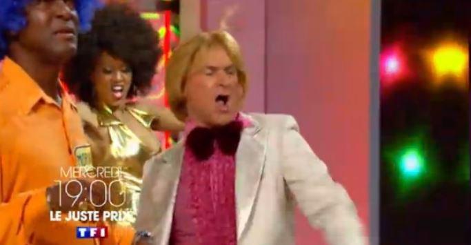 """Demain soir sur TF1, Vincent Lagaf présentera une spéciale disco du """"juste prix""""... Regardez !"""