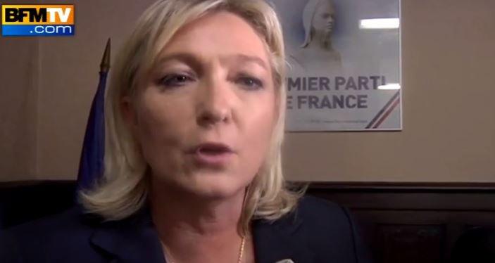 Marine Le Pen est en tête des sondages pour les élections présidentielles de 2017 avec 30% d'intentions...