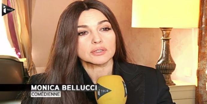 """Monica Bellucci: """"En France, la femme est encore respectée au cinéma""""... Regardez !"""