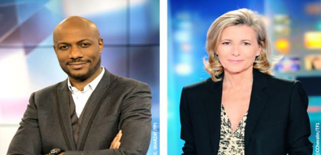 """Audiences: Les JT de Claire Chazal et """"Sept à Huit"""" de Harry Roselmack largement suivis hier sur TF1..."""
