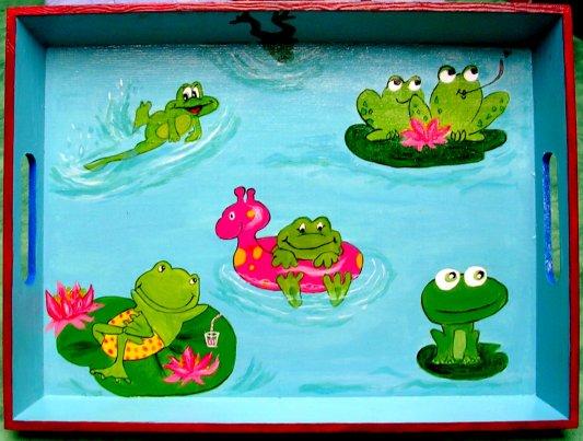 plateau grenouille ......