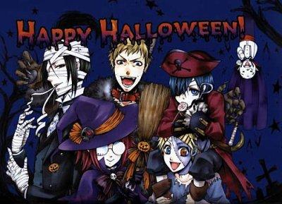 Joyeux Hallowen !( Happy Hallowen !)