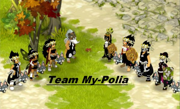 Bienvenue sur le blog de la team My-Polia.