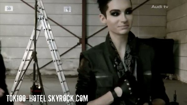 Screens - Audi TV - Tokio Hotel Chickie Run:   A spectacular Audi photo shoot