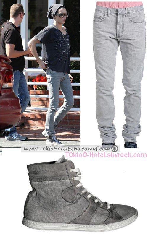 Bill's Style  Jeans: Dior Home   Prix: 425$   Chaussures: Giorgio Brato   Prix: 159$