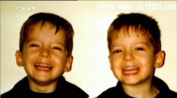 Les jumeaux étant petit !