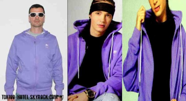 Tom's Style.   T.O.L. Hood Jacket - dahlia purple    www.mahagonyshop.net  69'90¤