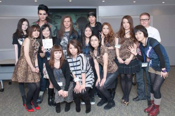 Tokyo, Japon - meet & greet (13.12.10)