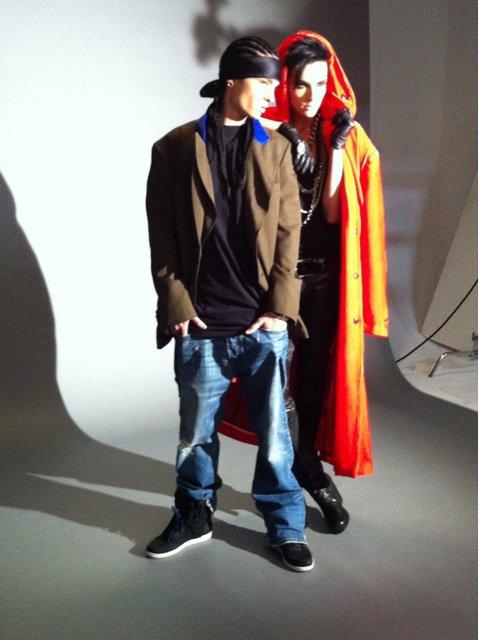 Tokyo, Japon - Interview & photoshoot (09.02.11)