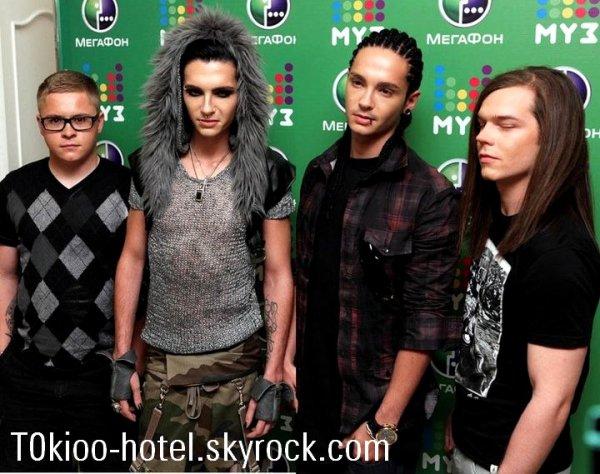 MuzTV Awards 2011 (Moscou- Russie)