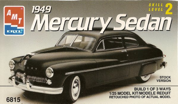 MERCURY SEDAN 1949 - AMT
