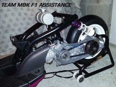 Moteur Stunt MBK F1 ASSISTANCE