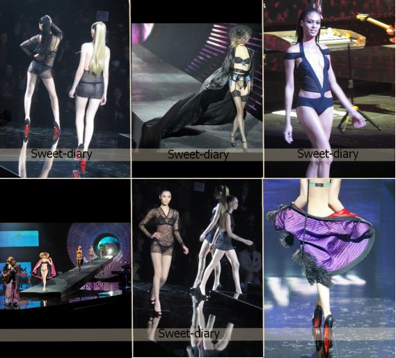 25 janvier 2011 - Etam présentait ses collections lingerie printemps-été 2011