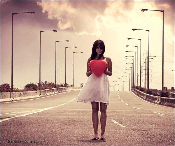 """""""Si un  amour  n'est pas réciproque, garde cela en mémoire : c'est simplement qu'il n'est pas fait pour toi."""""""