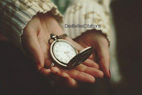 """""""On se rend compte souvent trop tard que le temps perdu est difficilement rattrapable. """""""