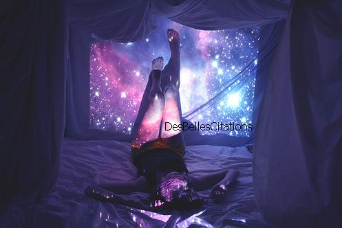 """""""Ce sont les étoiles, les étoiles tout là-haut qui gouvernent notre existence."""" William Shakespeare."""