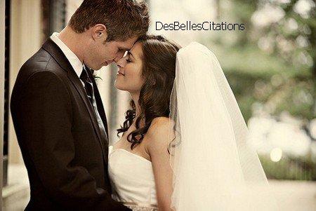 """""""Tous les mariages naissent pour la même raison : la peur..."""" Nicolas Rey."""