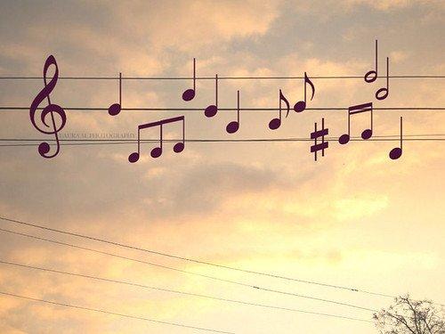 Il y a une musique pour chaque moment, chaque émotion.. Tu n'es jamais seul