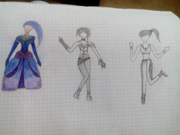 Et voila les dessins !!