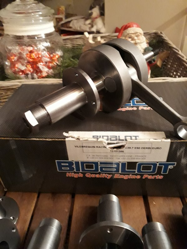 Canon vario 120 bidalot pour vilo racing derbi euro3