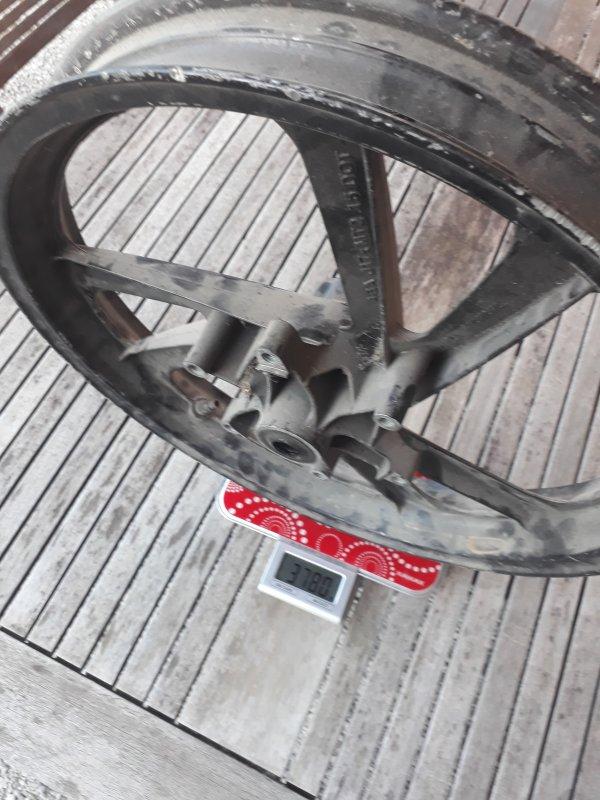 Le choc du prix le poids des roues