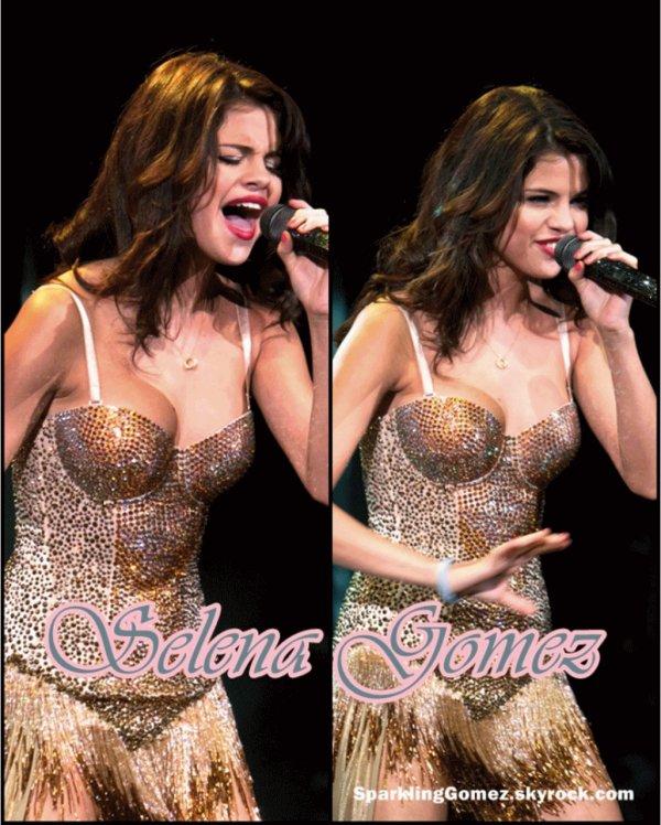 10.08.11 : Selena a produit son concert à Clarkston. Concernant La Vidéo : Selena a répondu à une interview à Betthel , New York.