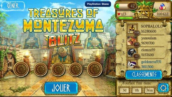 Treasures Of Montezuma Blitz 55