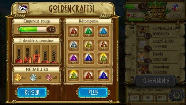 Treasures Of Montezuma Blitz Mon Score Actuel 2