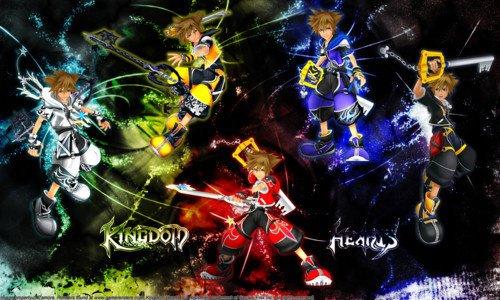 Image 63 Sora et toute les ces forme de fusion