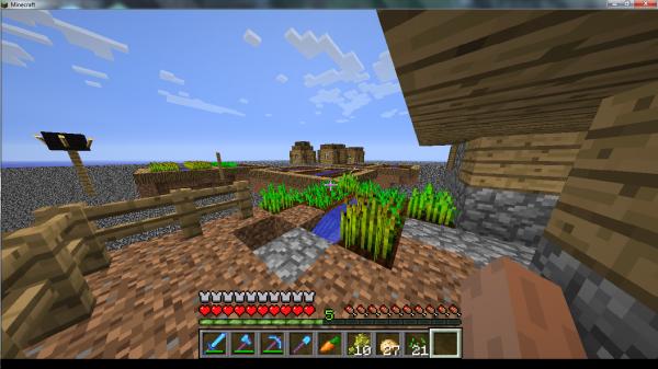 Ma vie sur Minecraft