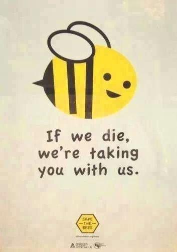 si nous mourons, nous vous emmenons avec nous (Bee)