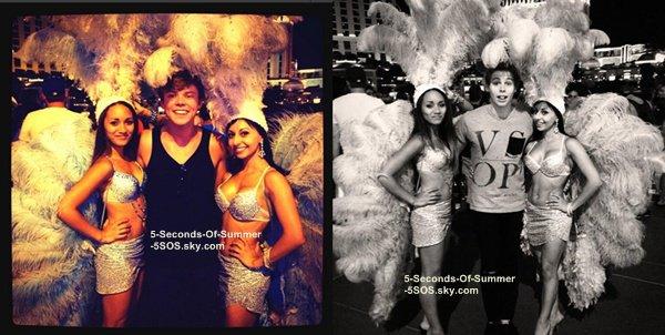 •Flash-Back• 01/08/13: Les garçons arrivaient à Las Vegas où ils ont pris le temps de parler et de signer des autographes aux fans qui attendaient devant leur hôtel. Durant la journée, ils se sont détendus puis ont fait une escapade dans la grandiose ville de Vegas.