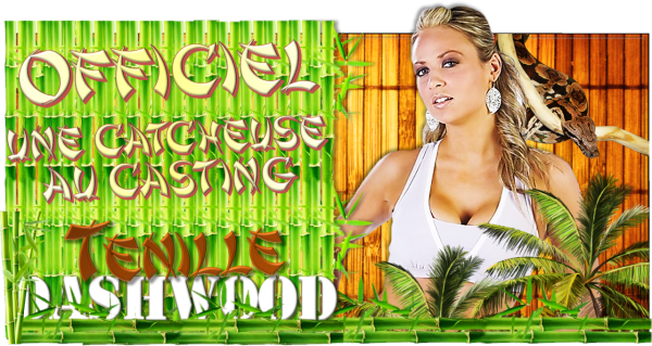 OFFICIEL : Tenille Dashwood