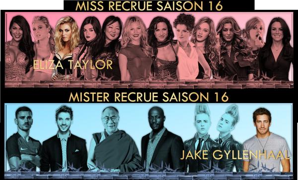 Miss et Mister Recrues - saison 16