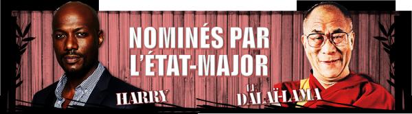 Semaine 3 : Les nominés de l'État-Major
