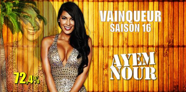 Ayem Nour : Vainqueur saison 16